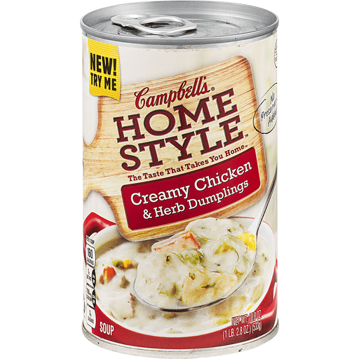 Campbells Home Style Soup, Creamy Chicken & Herb Dumplings