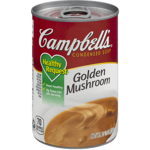 Campbells Healthy Request Soup, Condensed, Golden Mushroom
