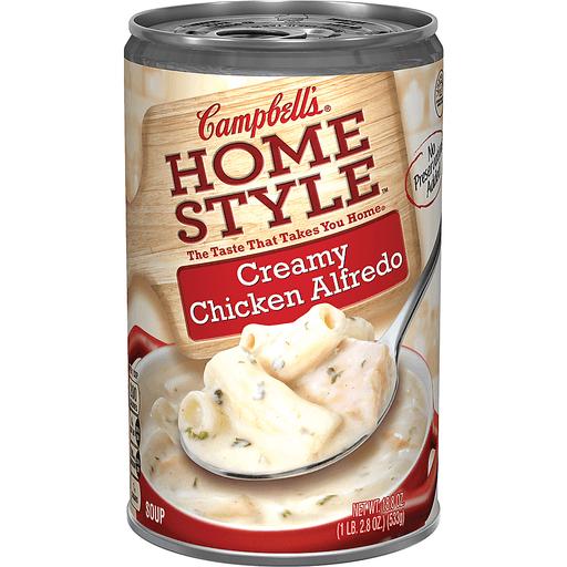 Campbell's® Homestyle Creamy Chicken Alfredo Soup, 18.8 oz.
