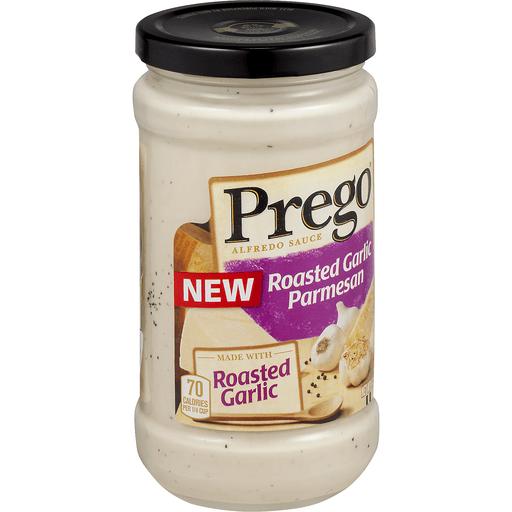 Prego Alfredo Sauce, Roasted Garlic Parmesan