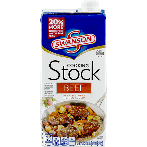 Swanson® Beef Cooking Stock, 32 oz.