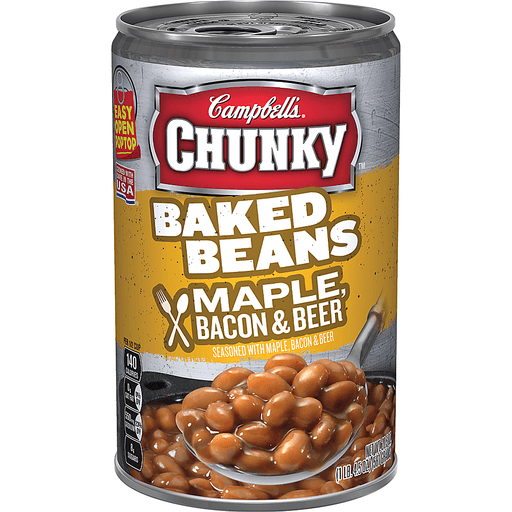 Campbells Baked Beans, Maple, Bacon & Beer