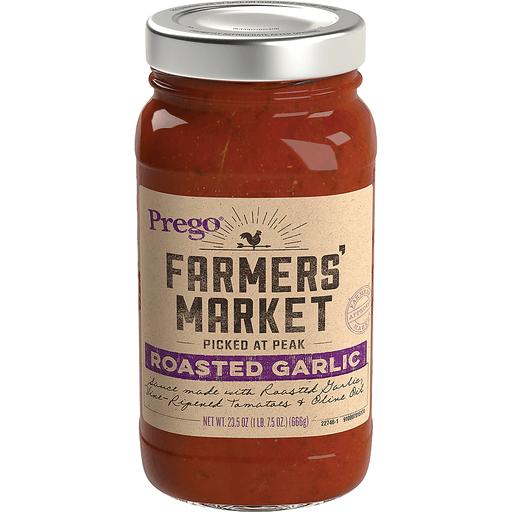 Prego Farmers' Market Sauce, Roasted Garlic