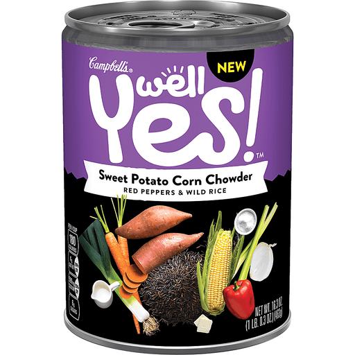 Campbells Well Yes! Corn Chowder, Sweet Potato