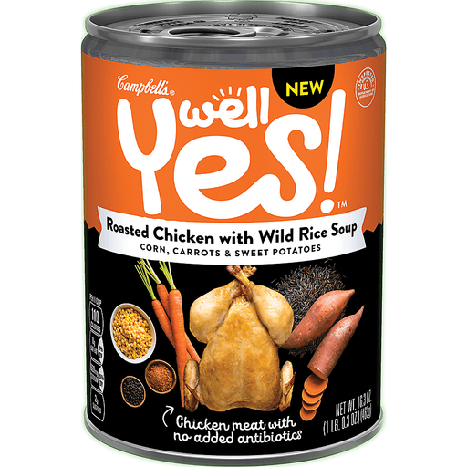Campbells Soup, Roasted Chicken with Wild Rice