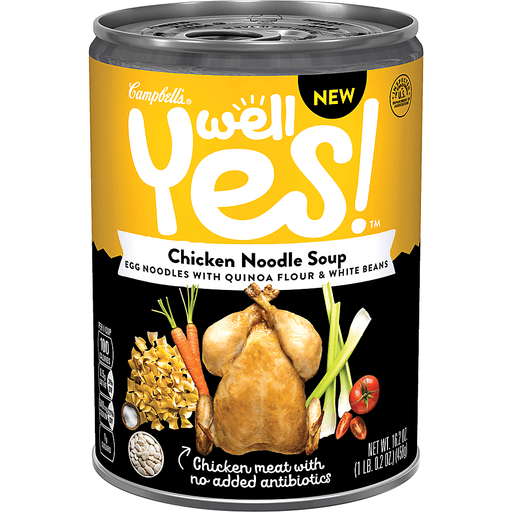 Campbells Well Yes! Soup, Chicken Noodle