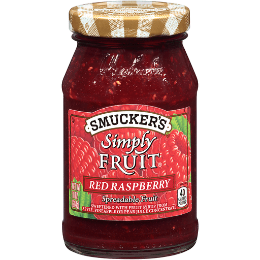 Smucker's Simply Fruit Red Raspberry Spreadable Fruit