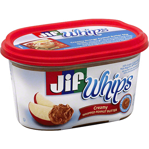 Jif Whips Peanut Butter, Whipped