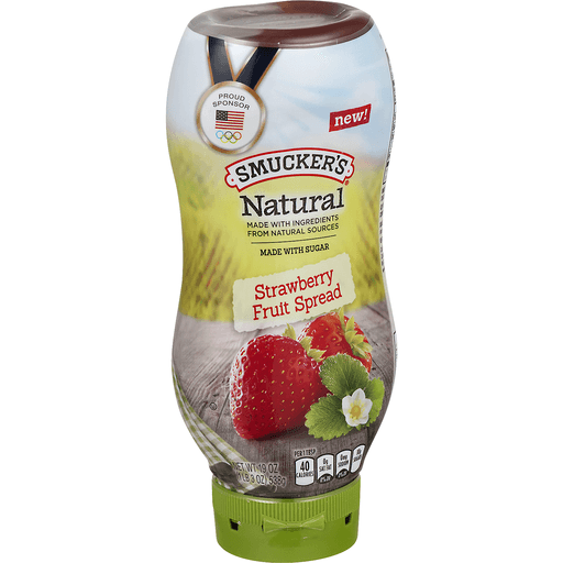 Smucker's Natural Fruit Spread Strawberry