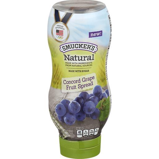 Smucker's Natural Fruit Spread Concord Grape
