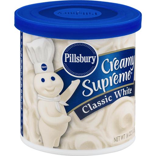 Pillsbury Creamy Supreme Frosting White