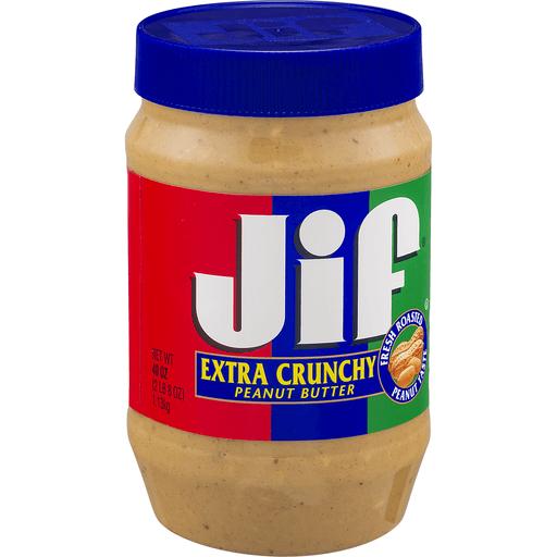 Jif Peanut Butter, Extra Crunchy