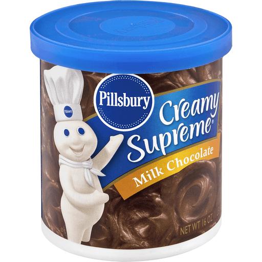 Pillsbury Creamy Supreme Frosting, Milk Chocolate