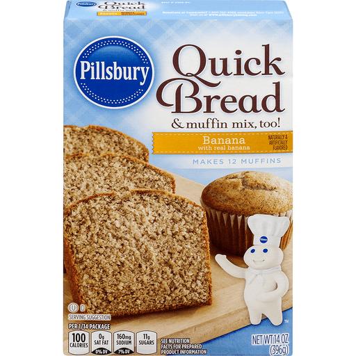 Pillsbury Quick Bread & Muffin Mix, Banana