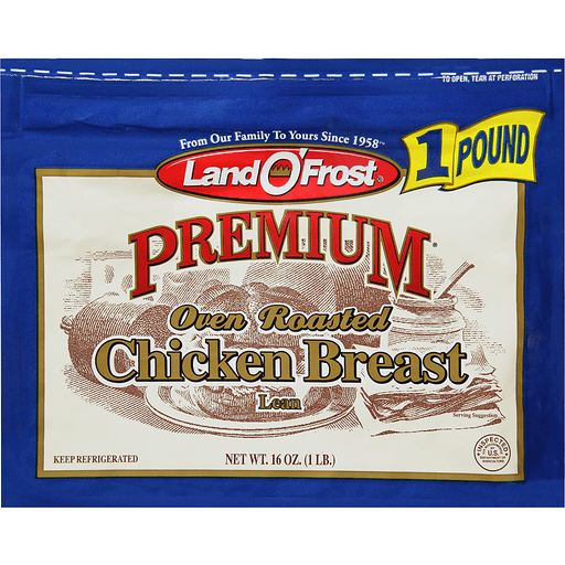 Land O Frost Premium Chicken Breast, Oven Roasted