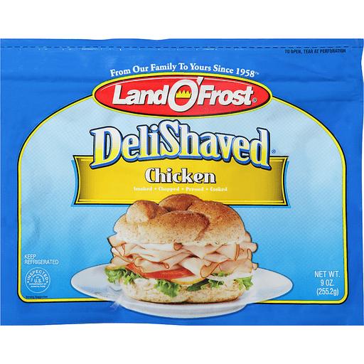 Land O'Frost® Deli Shaved Chicken 9 oz. Bag
