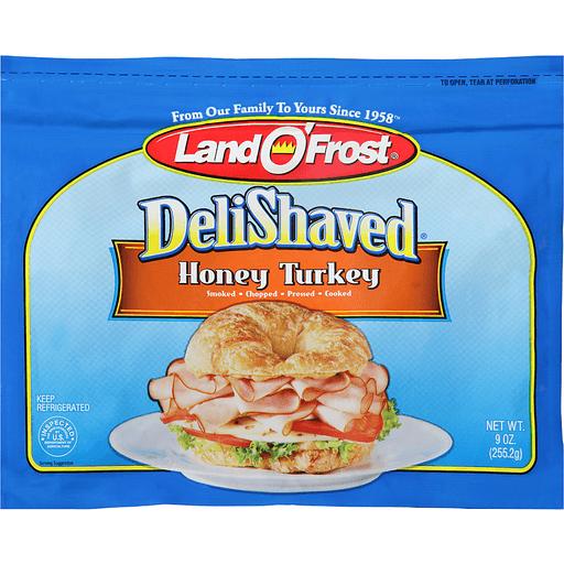 Land O Frost Deli Shaved Turkey, Honey
