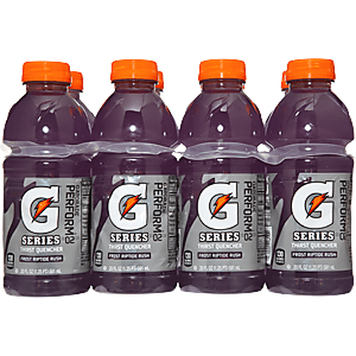 Gatorade Thirst Quencher, Frost, Riptide Rush, 8-Pack