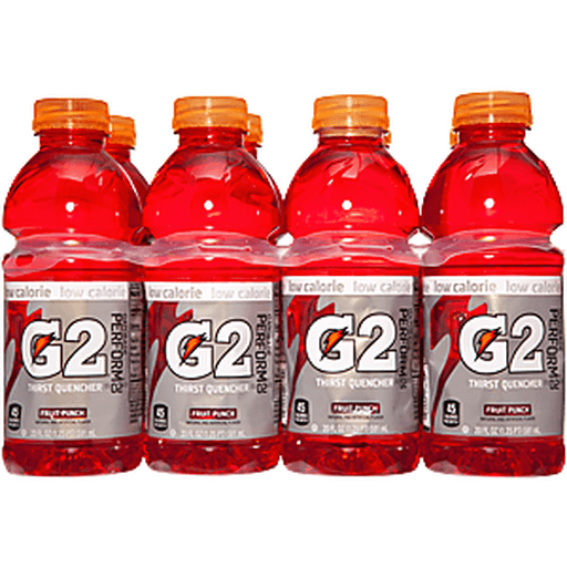 Gatorade G2 Thirst Quencher, 02 Perform, Low Calorie, Fruit Punch