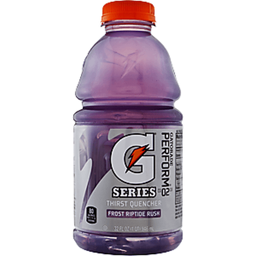 Gatorade Thirst Quencher, Frost, Riptide Rush