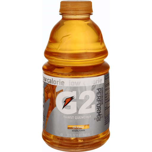 Gatorade G2 Thirst Quencher, Perform, Low Calorie, Orange