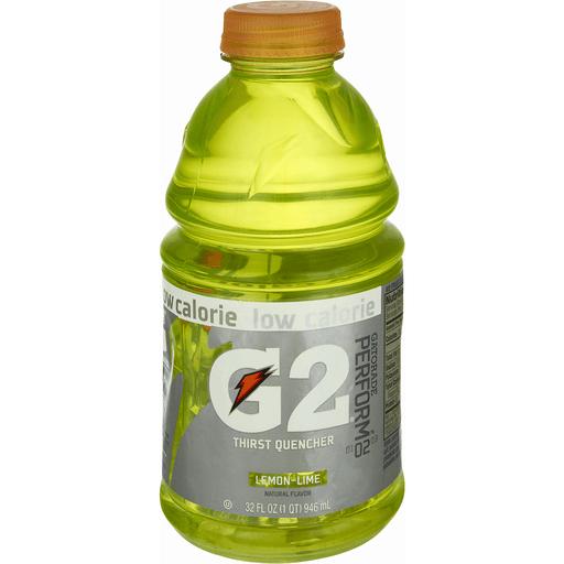 Gatorade G Series Thirst Quencher, G2, Perform, Lemon-Lime