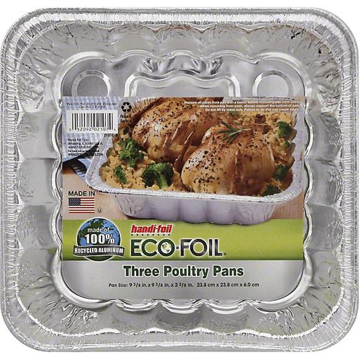 Handi Foil Eco-Foil Poultry Pans