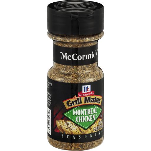 McCormick Grill Mates Seasoning, Montreal Chicken