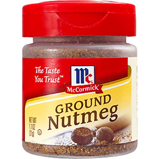 McCormick Nutmeg, Ground