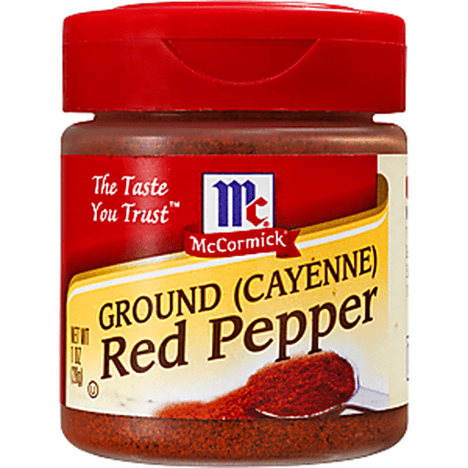 McCormick Pepper, Red (Cayenne), Ground