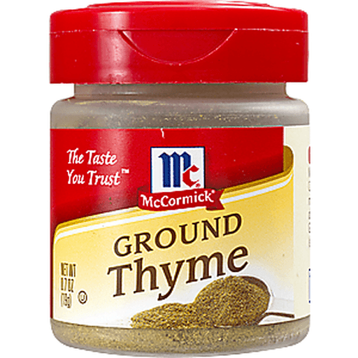 McCormick Thyme, Ground