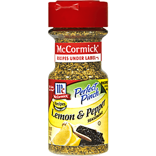 McCormick Perfect Pinch Seasoning, Lemon & Pepper