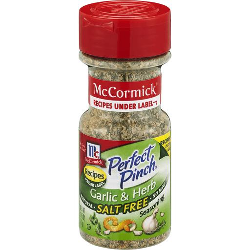 McCormick Perfect Pinch Garlic & Herb Salt Free Seasoning