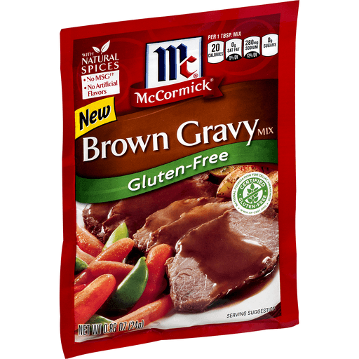 McCormick Gravy Mix, Brown, Gluten-Free