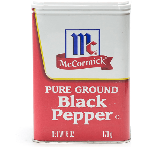 McCormick Pepper, Black, Pure Ground