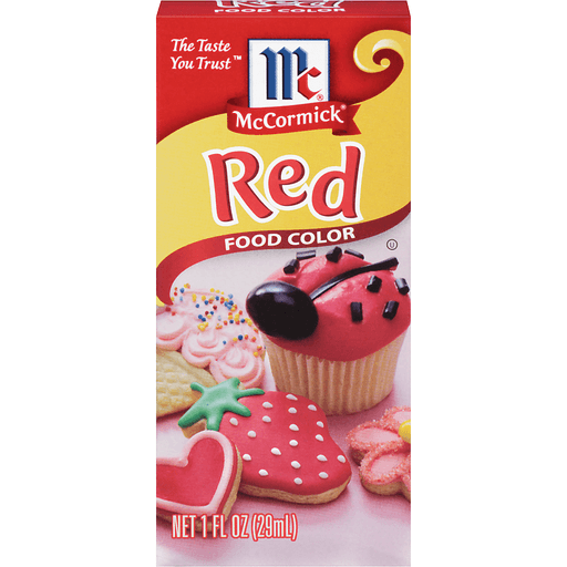 McCormick Food Color, Red