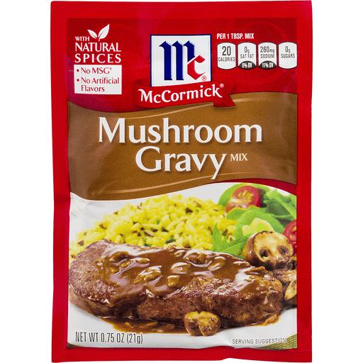 McCormick Gravy Mix, Mushroom