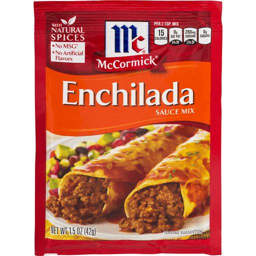 McCormick Sauce Mix, Enchilada