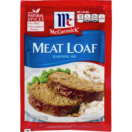 McCormick Seasoning Mix, Meat Loaf