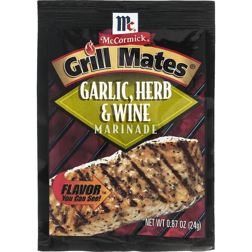 McCormick Grill Mates Marinade, Garlic, Herb & Wine