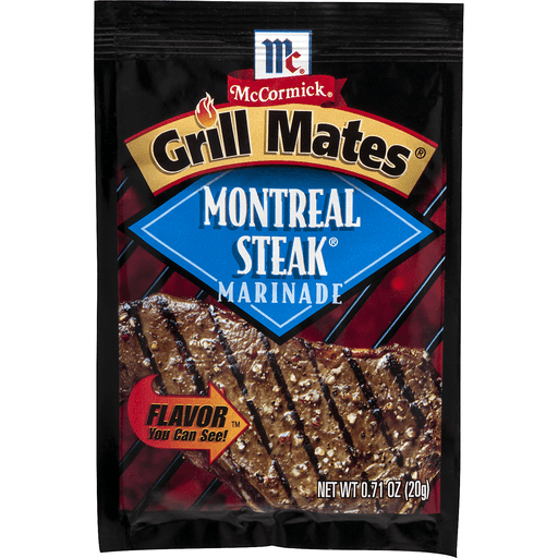McCormick Grill Mates Marinade, Montreal Steak