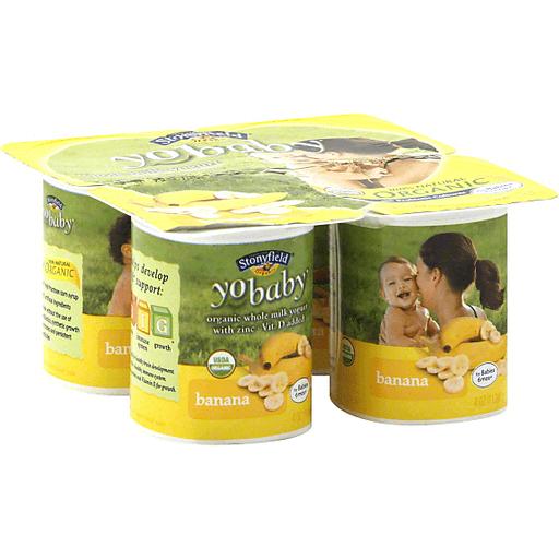 Stonyfield Organic YoBaby Babies 6mos+
