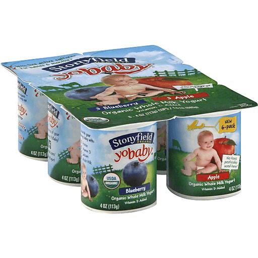 Stonyfield Farm Organic YoBaby Yogurt