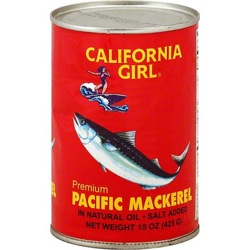 California Girl Mackerel In Oil