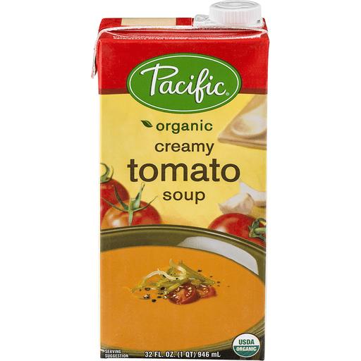 Pacific Organic Soup, Creamy Tomato