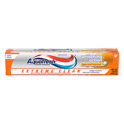 Aquafresh Extreme Clean White