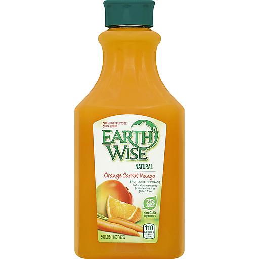 Earth Wise Orange Carrot Mango Juice