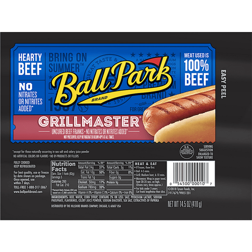 Ball Park® Grillmaster® Hearty Uncured