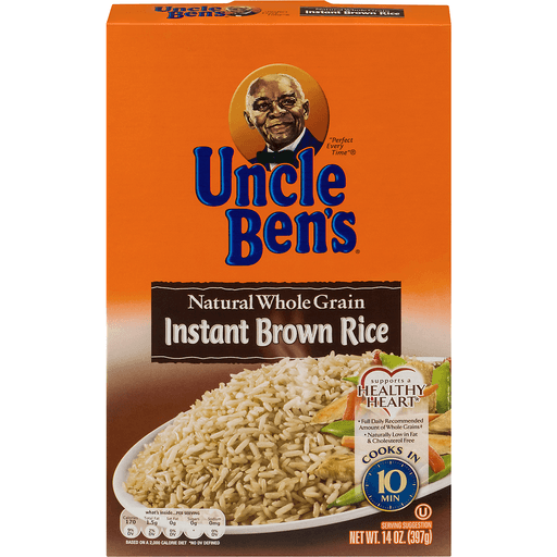 Uncle Bens Rice, Brown, Instant, Natural Whole Grain