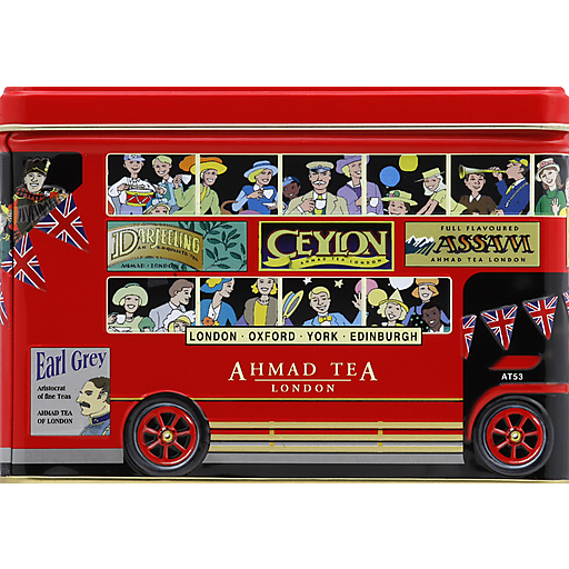 Ahmad London Bus Tea Tin